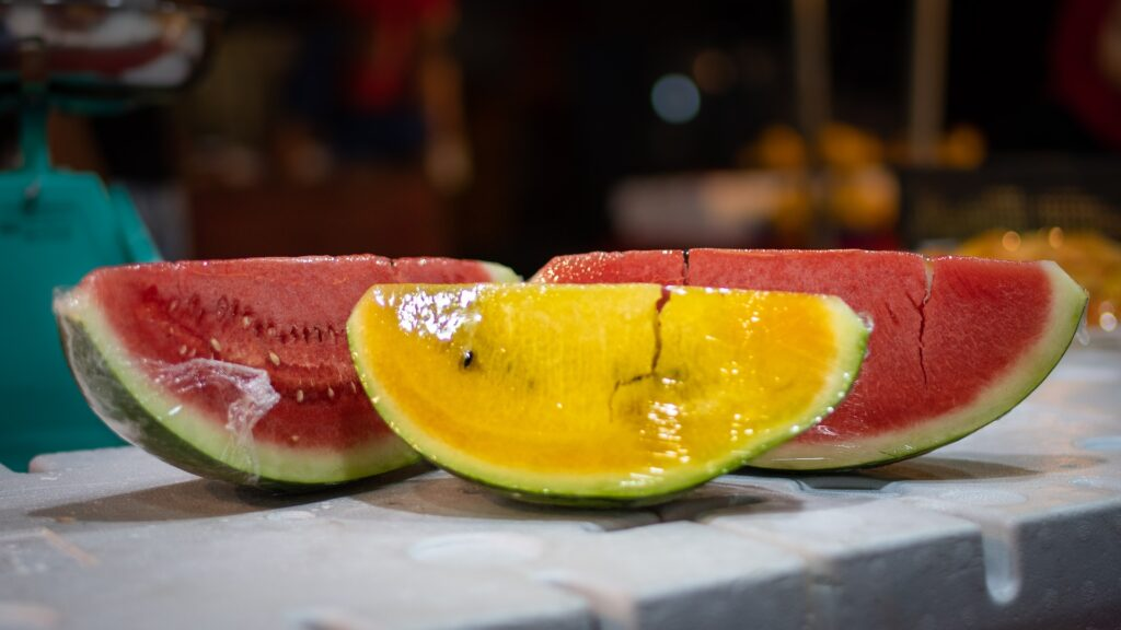 can dogs eat yellow watermelon